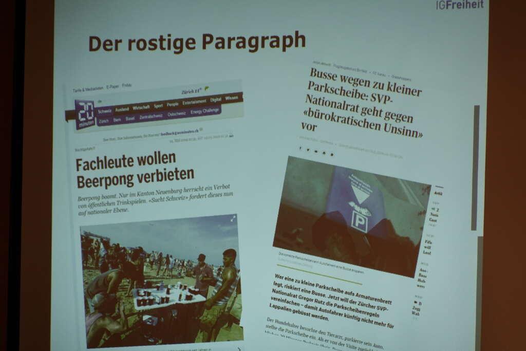 """NR Gregor Rutz, """"rostige Paragraphen"""""""