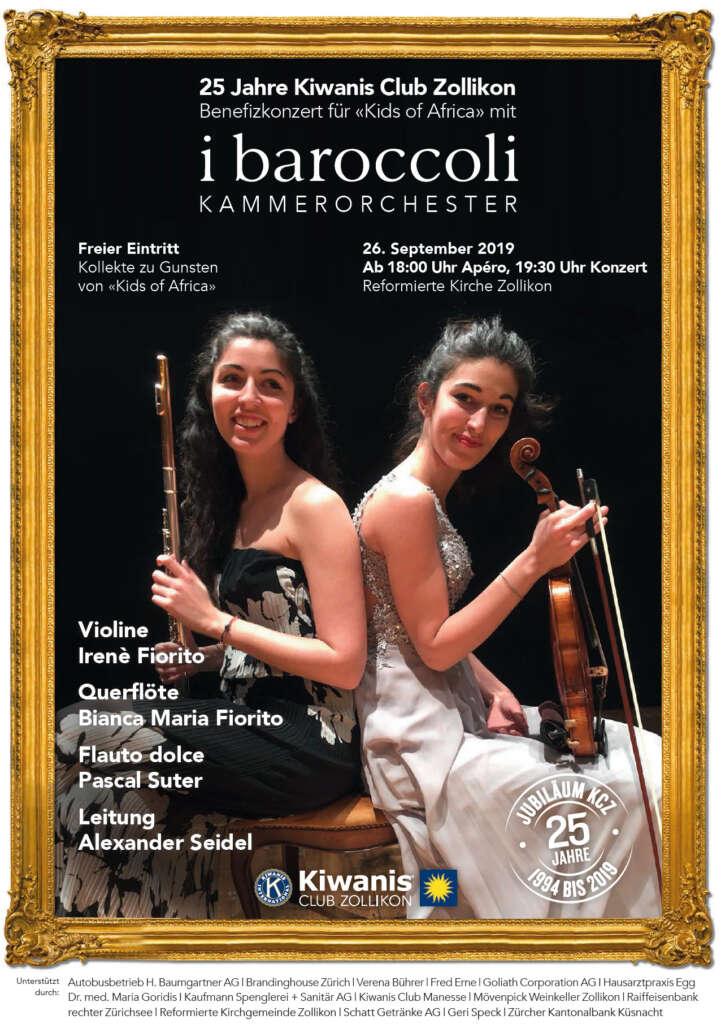 Konzert i baroccoli              am 26. September 2019